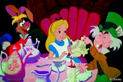 Alice in Wonderland Mad Hatters Tea Party