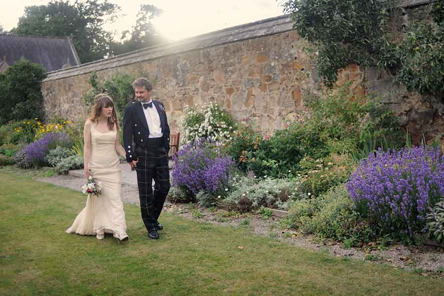 loretto school wedding couple
