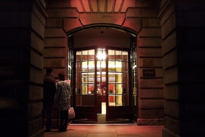 Assembly Rooms Edinburgh Entrance Doors