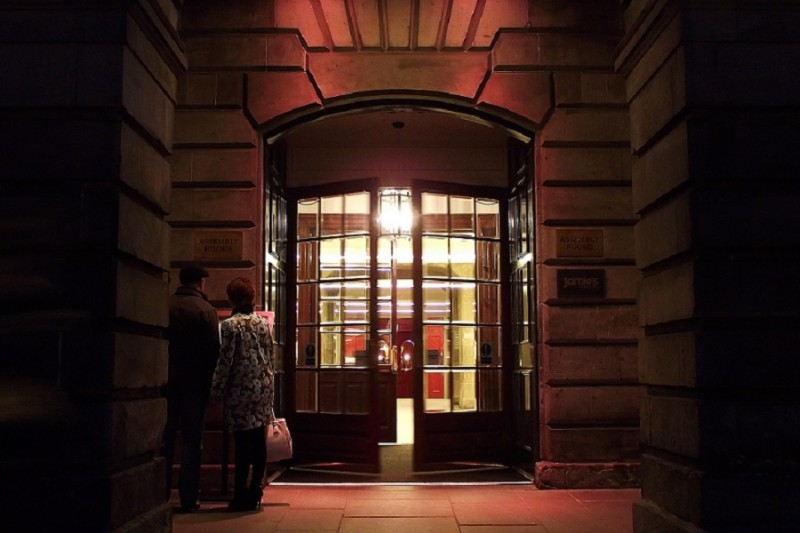 Assembly Rooms Edinburgh Entrance Doors