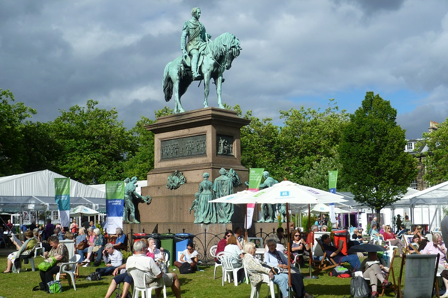 Edinburgh Book Festival Image